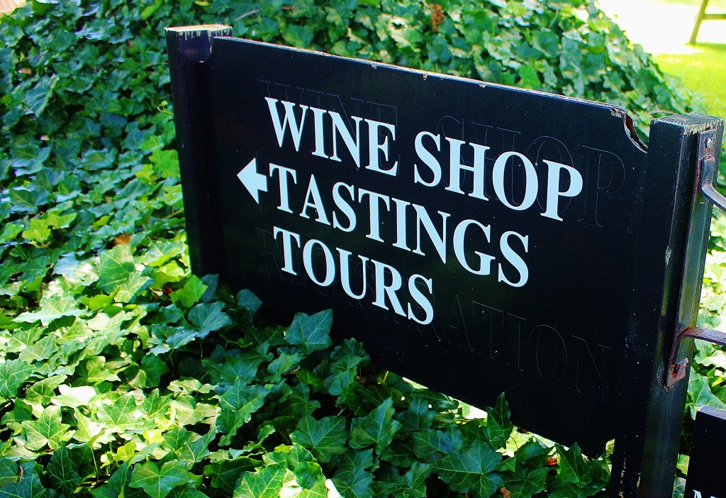 Wine Tasting Sign