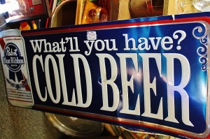 Pabst Cold Beer