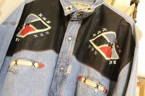 Vintage Cowboy Shirt Ole CArousel Antiques Center