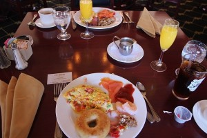 Thayer Hotel BSunday Champagne Brunch