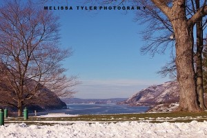 View from West Point onto Hudson River