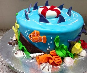 Kwirky Cakes 6 Jaws Bday Cake