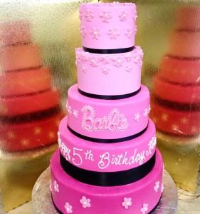 Kwirky Kakes 9 Barbie Cake