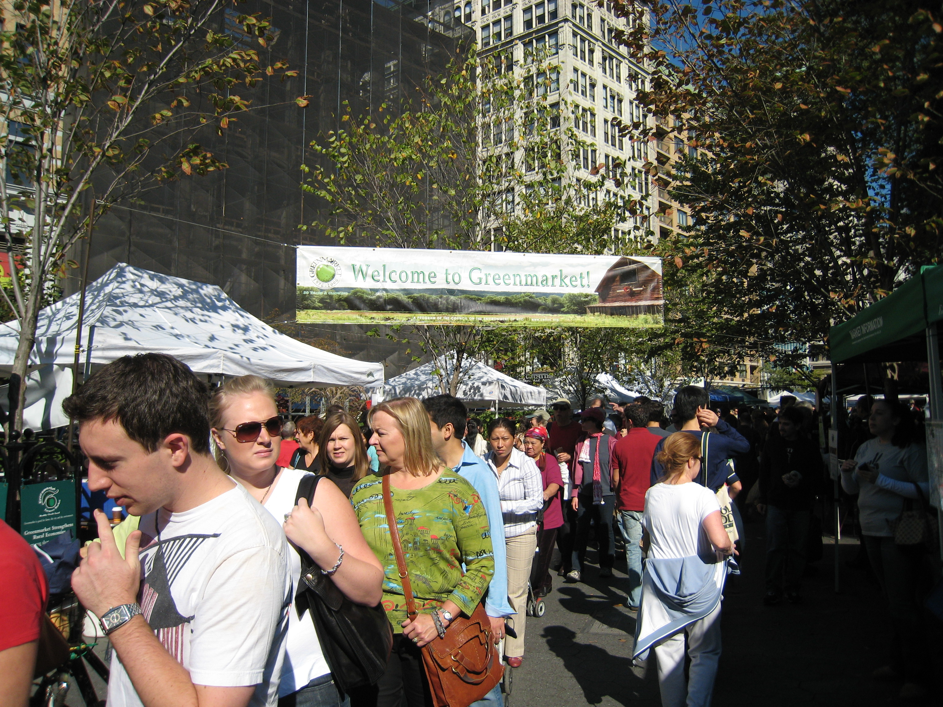 Union Square Green Market NYC